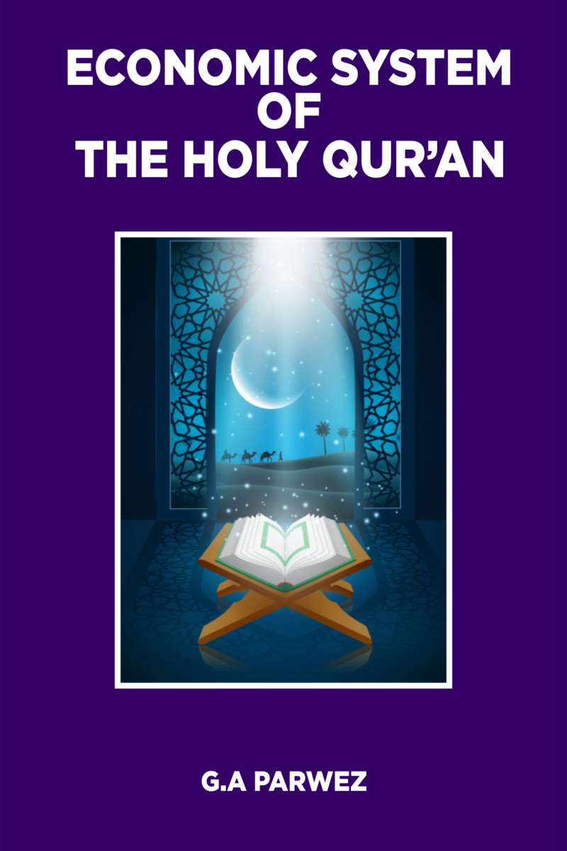 Economic System of The Holy Quran